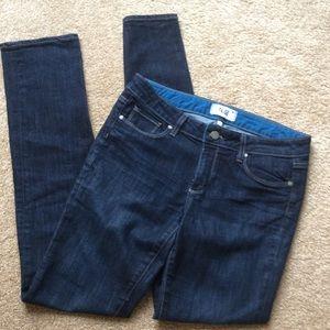 PAIGE Skinnyline Straight Denim Jeans